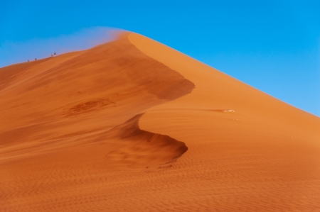 Beautiful dunes and nature of Namib desert, Sossusvlei, Namibia, South Africa