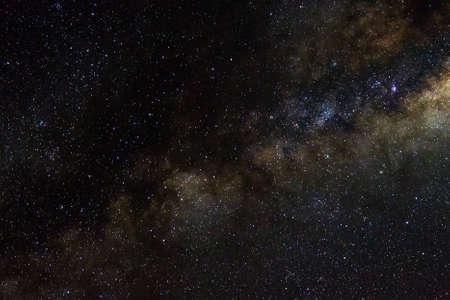 Foto für Stars and galaxy outer space sky night universe black starry background of shiny starfield - Lizenzfreies Bild