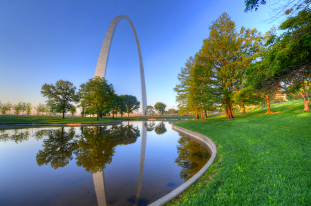 Photo for The Gateway Arch in St. Louis, Missouri. - Royalty Free Image
