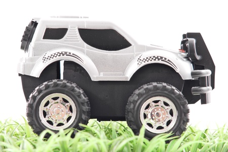 Toy Off Road Truck on Grass