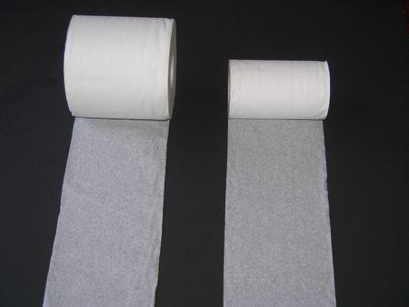 Unwinding toilet paper