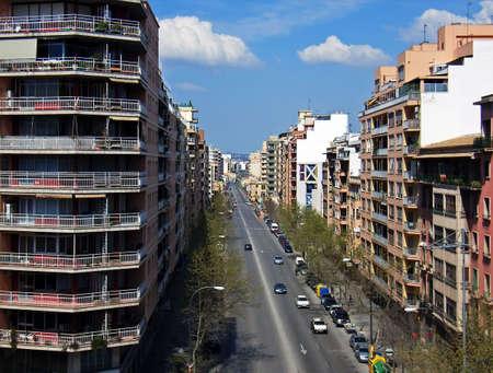 Street in the city of Palma de MAllorca (Spain)