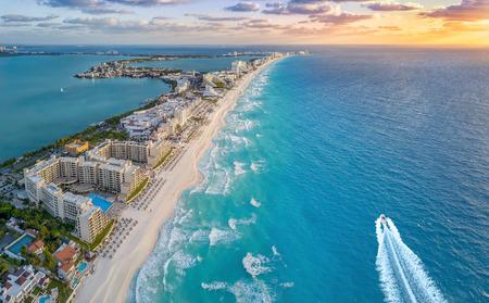 Photo pour cancun beach - image libre de droit