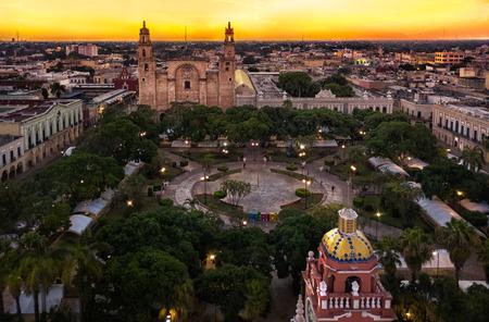 Photo pour Merida mexico city view - image libre de droit