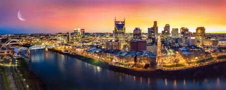 Photo pour Scenery of Nashville Skyine - image libre de droit