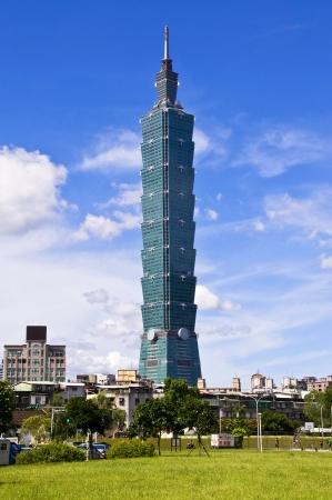 Taiwan Landmark Taipei 101