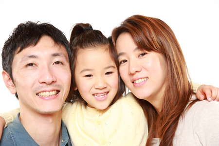 Japanese Parent And Daughterの写真素材