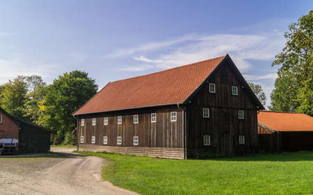 Photo for Old wooden german rural farm house . - Royalty Free Image