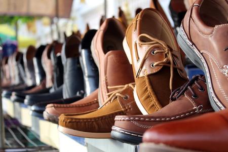 Foto de shoes leather background - Imagen libre de derechos