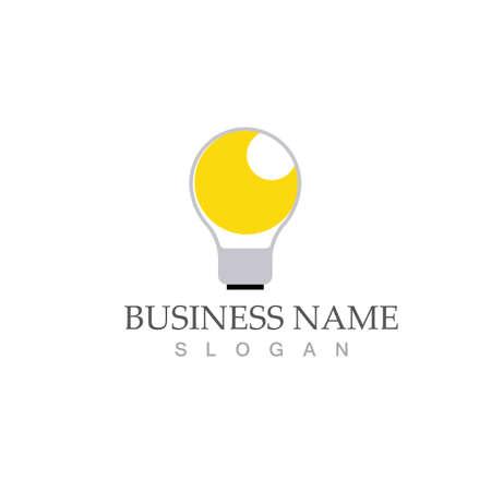 Illustration pour light bulb symbol vector design illustration - image libre de droit