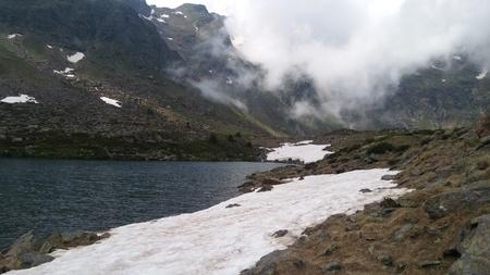 Beautiful snowed mountains