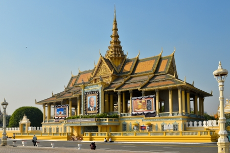 Chan Chhaya Pavilion, Royal Palace - Phnom Penh, Cambodia