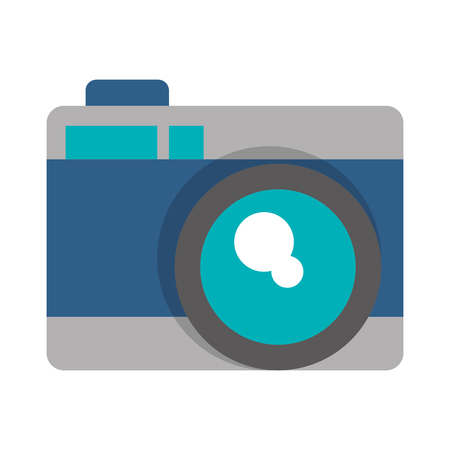 Illustration for photographic camera icon cartoon vector illustration graphic design - Royalty Free Image