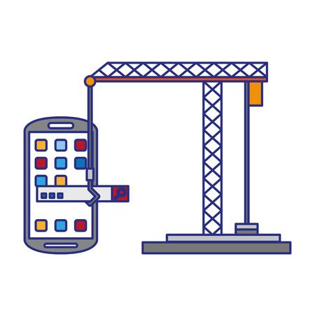 Smartphone operative system coding software under