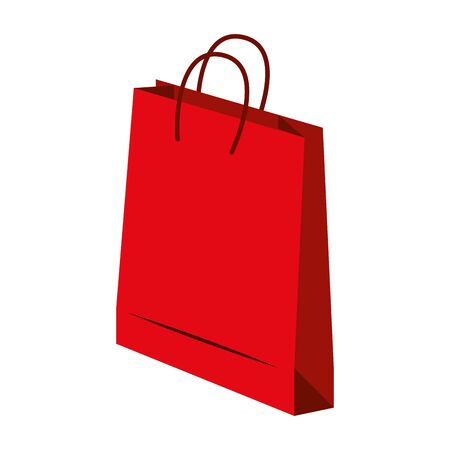 Illustration for shopping retail sale store, shopping bag isolated cartoon vector illustration graphic design - Royalty Free Image