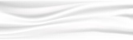 Illustration pour Abstract white cloth vector background. Vector illustration. - image libre de droit