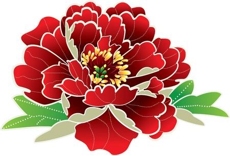 Illustration pour Flower icon - image libre de droit