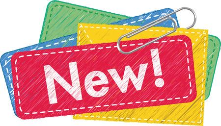 Illustration pour New Arrival Icon - image libre de droit