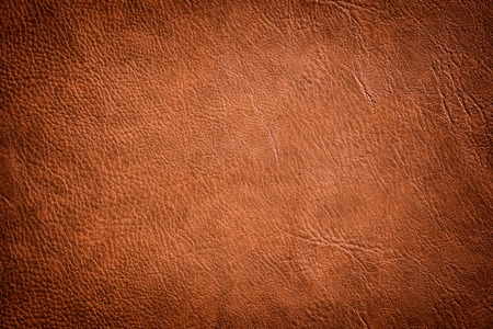 Foto de Brown Leather Texture used as luxury classic Background. - Imagen libre de derechos