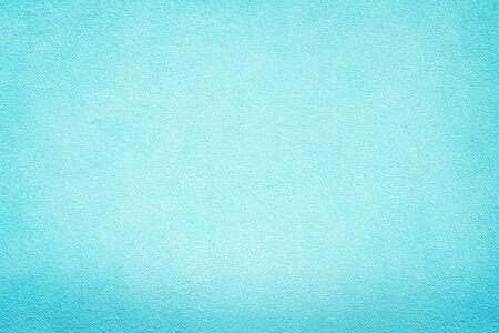 Foto per Vintage Blue aquarelle painted wall Background paint decoration backdrop color pop design - Immagine Royalty Free