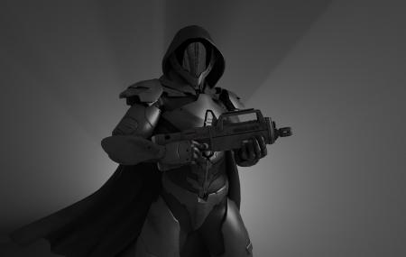 Advanced stealth soldier