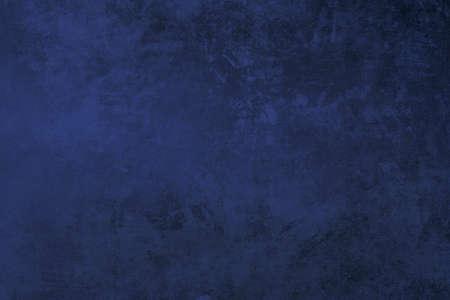 Photo pour Indigo blue colored grungy background or texture - image libre de droit