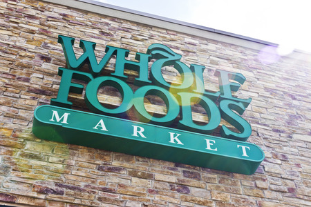 Indianapolis - Circa April 2016: Whole Foods Market, America's Healthiest Grocery Store II