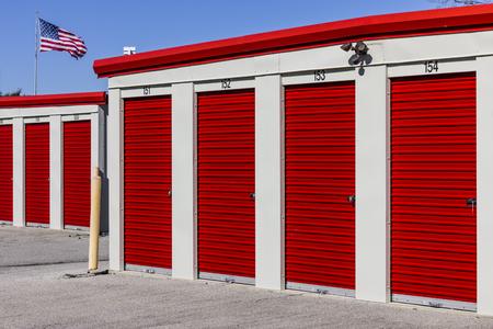 Photo for Numbered self storage and mini storage garage units II - Royalty Free Image