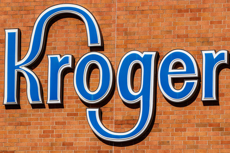 Indianapolis - Circa March 2018: Kroger Supermarket. The Kroger Co. is One of the World's Largest Grocery Retailers I