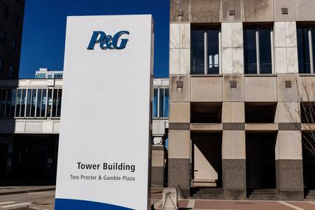 Cincinnati - Circa February 2019: Procter & Gamble Corporate Headquarters. P&G is an American Multinational Consumer Goods Company VII