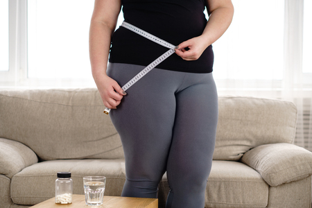 Photo pour Weight loss, medical therapy, diabetes prevention - image libre de droit
