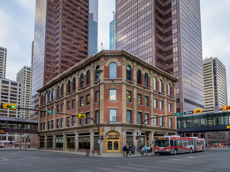 he Odd Fellows Temple on December 22, 2014 in Calgary, Alberta Canada.