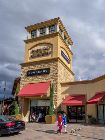 Cabazon Ca Nov 2015 Desert Hills Premium Outlet Mall On