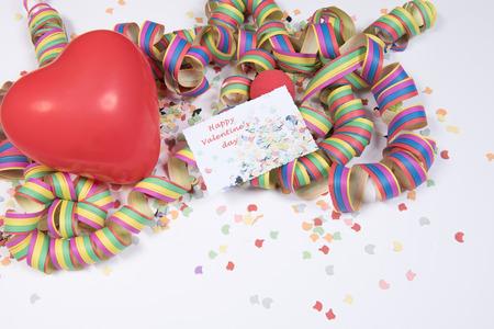 Photo pour Decoration for Valentine \ 's Day - image libre de droit