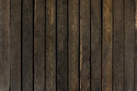 Photo for Dark brown Wood texture for background - Royalty Free Image