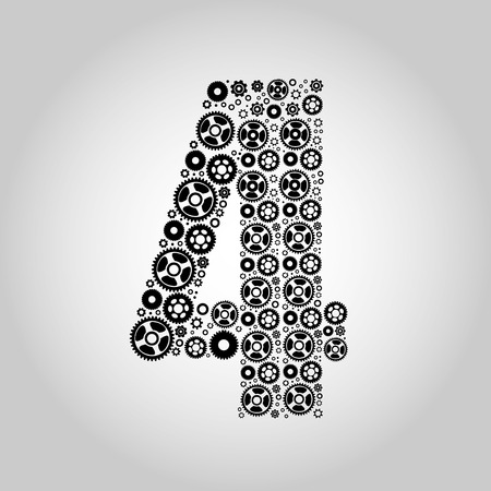 Alphabet - Gear-number 4