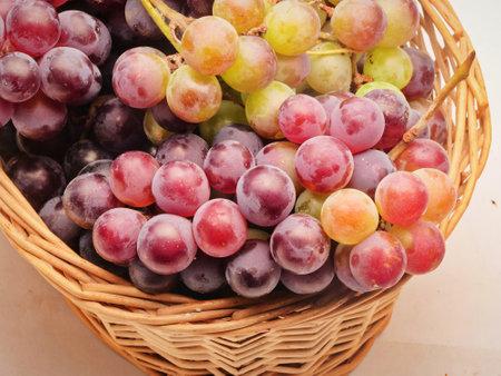 Foto für Fresh fruit, red grape, gourmet photography, close up - Lizenzfreies Bild