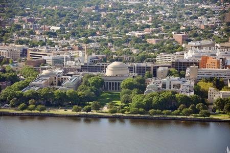 Massachusetts Institute of Technology (MIT) Aerial view, Cambridge, Massachusetts, USA