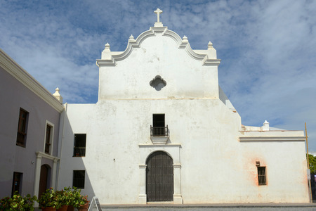 San Jose Church, built in 1532, is a Spanish Gothic architecture in Old San Juan, Puerto Rico.