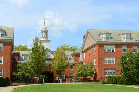 Foto de Wayland Hall in Brown University, Providence, Rhode Island RI, USA. - Imagen libre de derechos