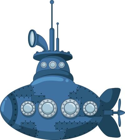 blue submarine for you design