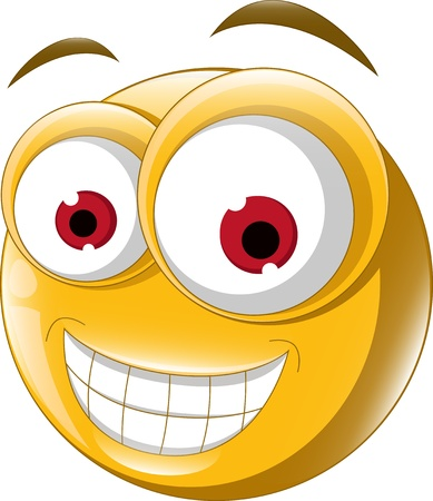 Emoticon smile for you design