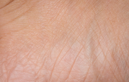 close up Human skin woman texture macro
