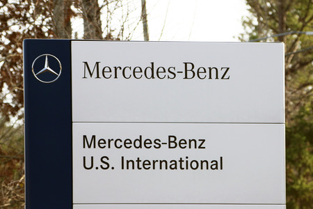 VANCE, AL-CIRCA JANUARY 2015: Mercedes Benz has started production of its new C Class sedan at the Alabama manufacturing complex