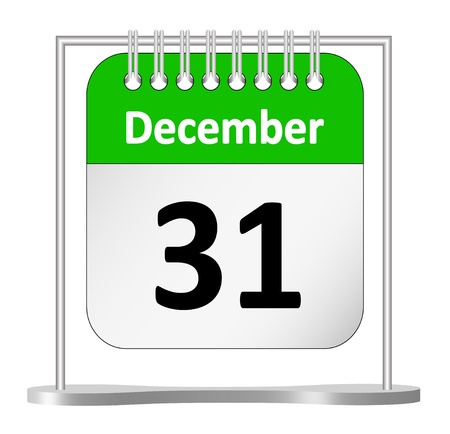 Last day of the year – December 31st