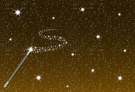Magic Stars Background