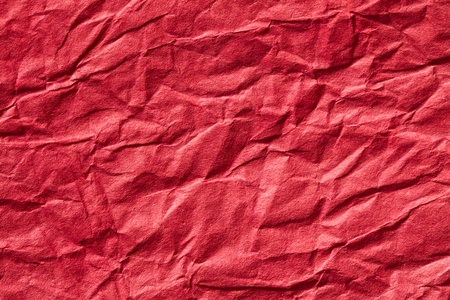 the red crumpled paper background