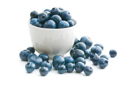Foto für Tasty blueberries isolated on white background. Blueberries are antioxidant organic superfood. - Lizenzfreies Bild