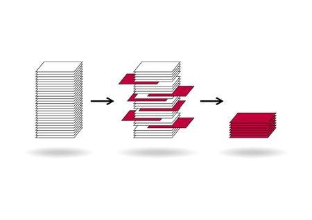 Data mining (dataminig) process and big data analysis (bigdata) issue scheme.