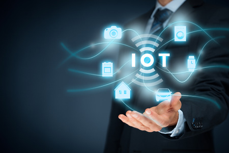 Internet of things (IoT) concept.